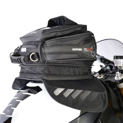 Oxford OL221 M15R Magnetic Motorcycle Tank Bag - 15 Litres - Expanded