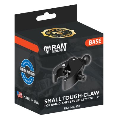 RAM Mount Base - Small Tough Claw - Packaging