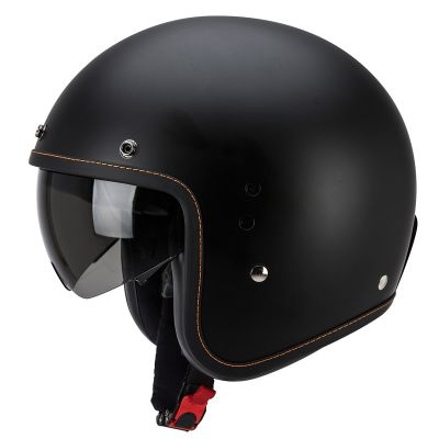Scorpion Belfast Open Face Motorcycle Helmet - Matt Black - Left