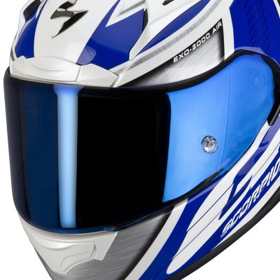 Scorpion EXO 2000/410 Visor - Blue Mirror