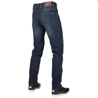 Bull-it Men's Tactical SP75 (AA) Motorcycle Jeans Icon Blue Straight Fit rear