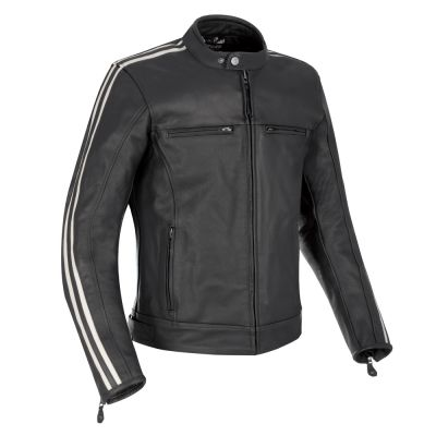 Oxford Bladon Leather Jacket - Black
