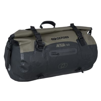 Oxford Aqua T-50 Roll Bag - Khaki Black