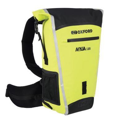 Oxford Aqua B-25 Hydro Backpack - Black Fluo