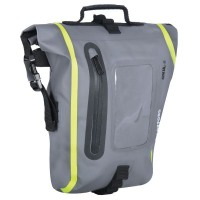Oxford Aqua M8 Tank Bag - Black Grey Fluo