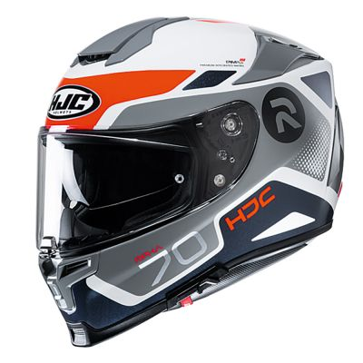 HJC Rpha 70 Full Face Helmet - Shuky Orange