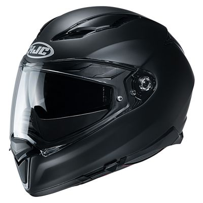 HJC F70 Full Face Helmet - Plain Matt Black