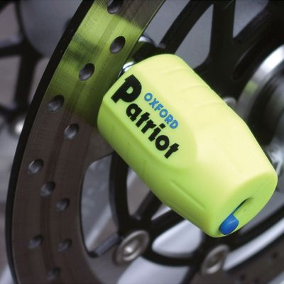 Oxford Patriot Disc Lock - Extended Pin