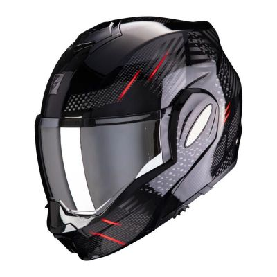 Scorpion Exo Tech Pulse Flip Front Helmet - Pulse Red