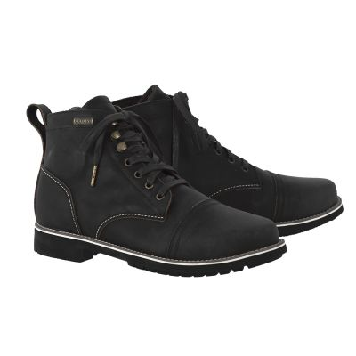 Oxford Digby Short Boots - Black