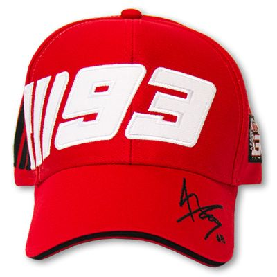 Official Marquez Paddock Cap - Red