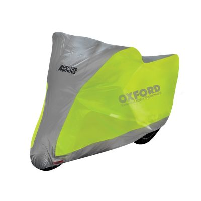 Oxford Aquatex Outdoor Motorcycle Cover - Florescent