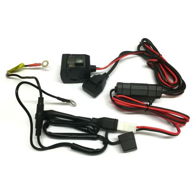 Daytona Motorcycle Power Supply USB and Cigarette - contents