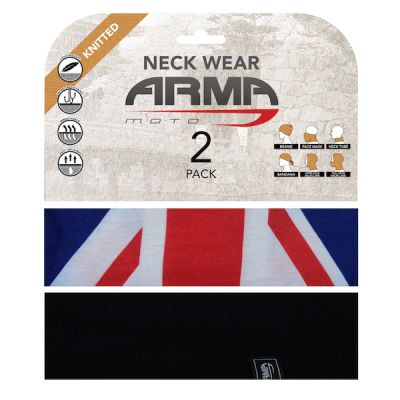 ARMR neckwear summer twin pack - Union Jack