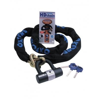 Oxford HD Chain and Lock - 1.5m