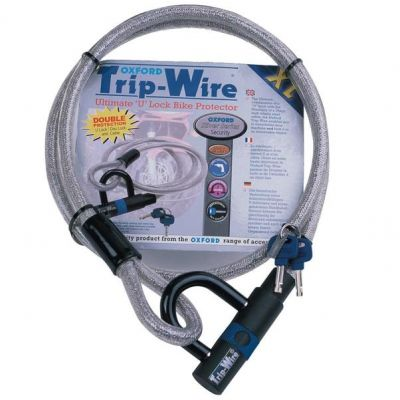 Oxford Trip Wire XL Cable and Lock