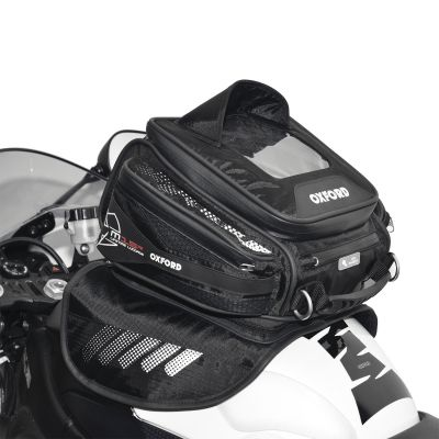 Oxford OL221 M15R Magnetic Motorcycle Tank Bag - 15 Litres