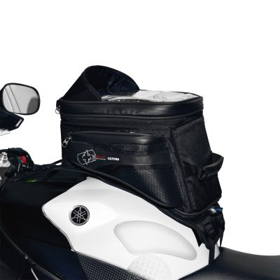 Oxford OL231 S20R Strap-On Motorcycle Tank Bag - 20 Litres
