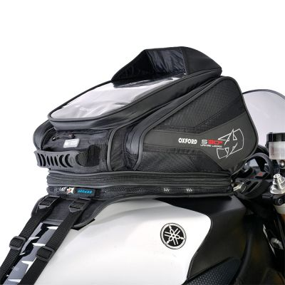 Oxford OL345 S30R Strap-On Motorcycle Tank Bag - 30 Litres