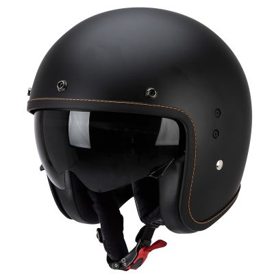 Scorpion Belfast Open Face Motorcycle Helmet - Matt Black
